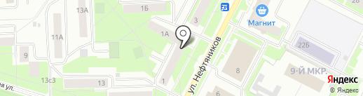 Белый сервис на карте Нижневартовска