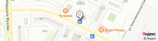 ВКУСНО...блин на карте Нижневартовска