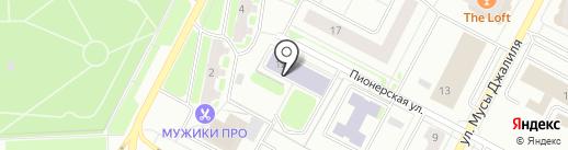 ПРОЦЕСС на карте Нижневартовска