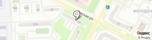 Алмаз на карте Нижневартовска