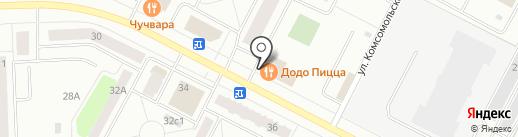 The One на карте Нижневартовска
