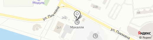 Мечеть на карте Нижневартовска