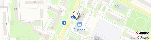 Метросеть-Нижневартовск на карте Нижневартовска