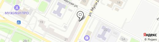 Антей на карте Нижневартовска