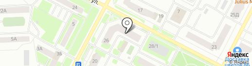 Десятка на карте Нижневартовска