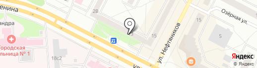 Сервис плюс на карте Нижневартовска