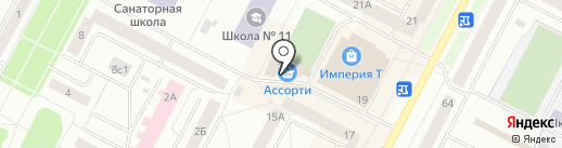 Халял на карте Нижневартовска