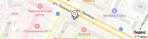 Любимый на карте Нижневартовска