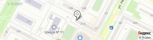 Нижневартовсклифт на карте Нижневартовска