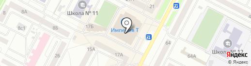 Денди на карте Нижневартовска