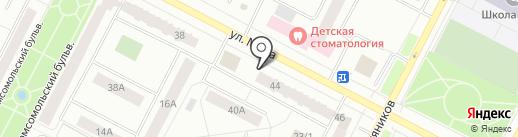 Магазин тканей и фурнитуры на карте Нижневартовска