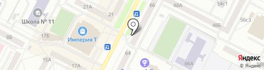 Видеофотостудия на карте Нижневартовска