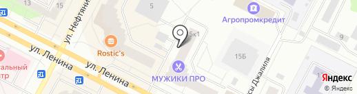 Банкомат, Росбанк, ПАО на карте Нижневартовска