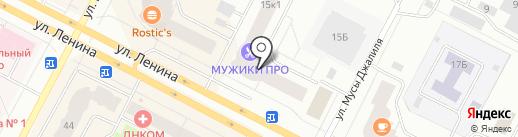 Содействие на карте Нижневартовска