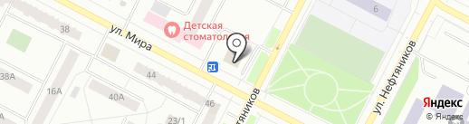Мастерская по ремонту швейных машин на карте Нижневартовска
