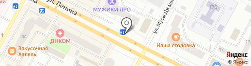 Мегафон на карте Нижневартовска