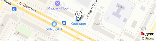 Оптика на карте Нижневартовска