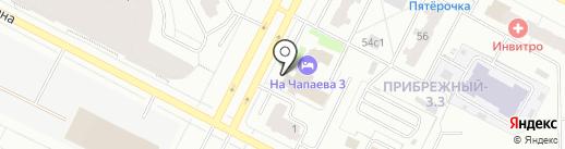 Хит-клуб на карте Нижневартовска