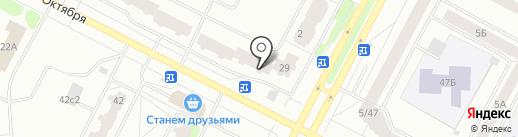 Пив маг на карте Нижневартовска