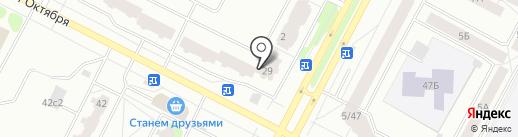 Клиника на карте Нижневартовска