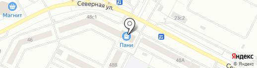 Пятерочка на карте Нижневартовска