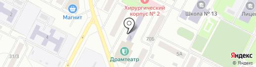 Детская музыкальная школа им. Ю.Д. Кузнецова на карте Нижневартовска