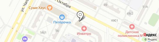 Магнит на карте Нижневартовска