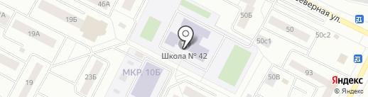 Единорог на карте Нижневартовска