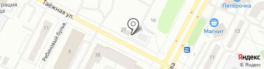 СП Сервис-Нижневартовск на карте Нижневартовска