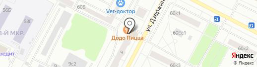 Огни Сибири на карте Нижневартовска