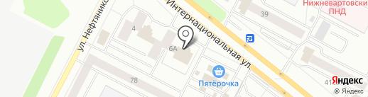 Банкомат, МТС-банк, ПАО на карте Нижневартовска