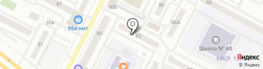 Филанта на карте Нижневартовска