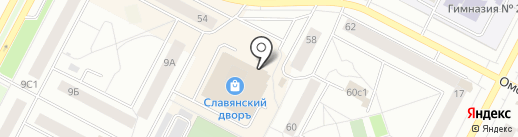 Банкомат, Запсибкомбанк, ПАО на карте Нижневартовска