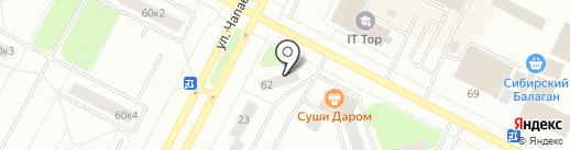 Вдохновение на карте Нижневартовска