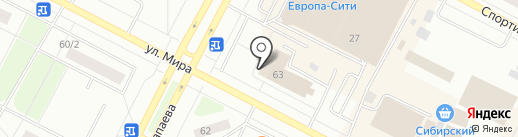 MONRO-BMS на карте Нижневартовска