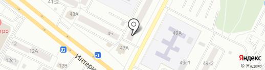 Ювелирная мастерская на карте Нижневартовска