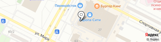 Simply City на карте Нижневартовска