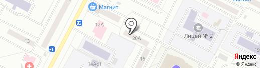 АРТ ПРИНТ УРАЛ на карте Нижневартовска