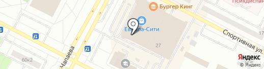 Европа-фитнес на карте Нижневартовска