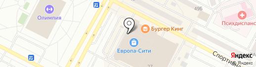 Пэй про на карте Нижневартовска