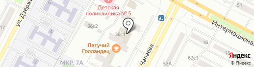 Чемодан на карте Нижневартовска