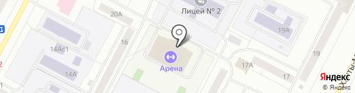 Ультрафит на карте Нижневартовска