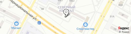 Лидер на карте Нижневартовска