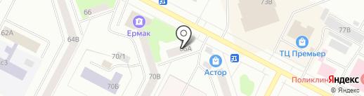 ЦРБ Гарант на карте Нижневартовска