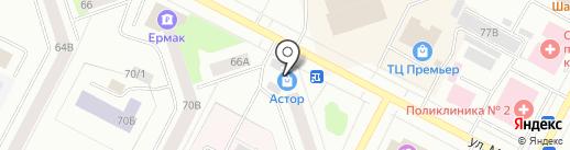 Меранген-НВ на карте Нижневартовска