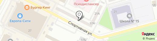 ТурнеТранс на карте Нижневартовска
