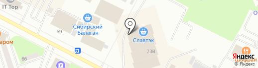 Магазин мужской верхней одежды и обуви на карте Нижневартовска