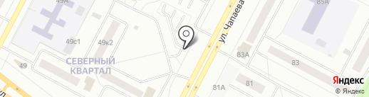ЮСС на карте Нижневартовска