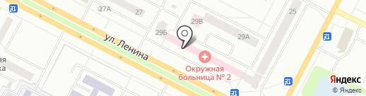 Нижневартовская окружная больница №2 на карте Нижневартовска