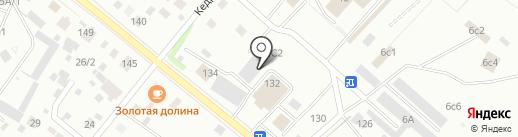 Автоцентр на карте Нижневартовска